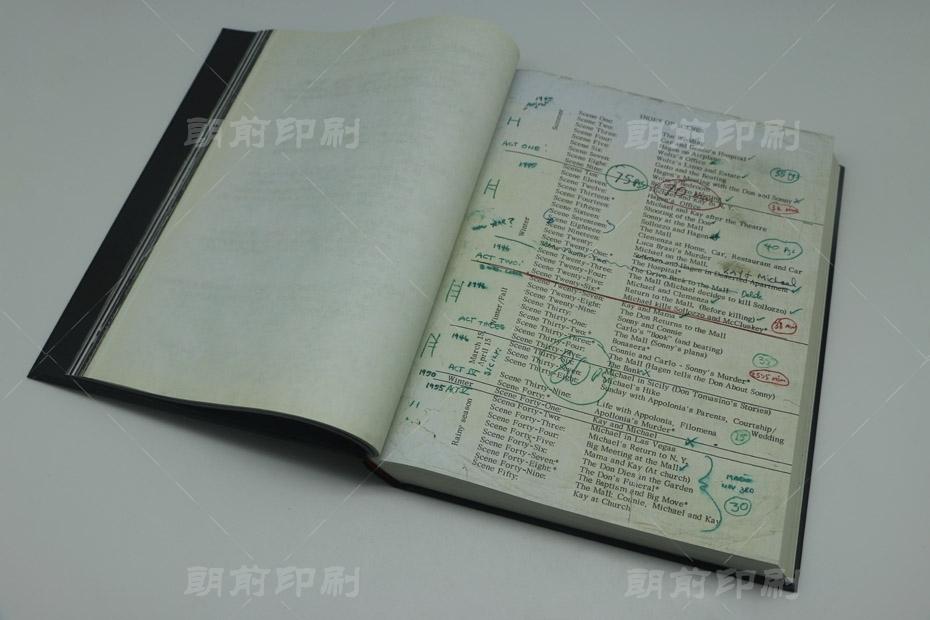 广州菜谱画册厂家印刷