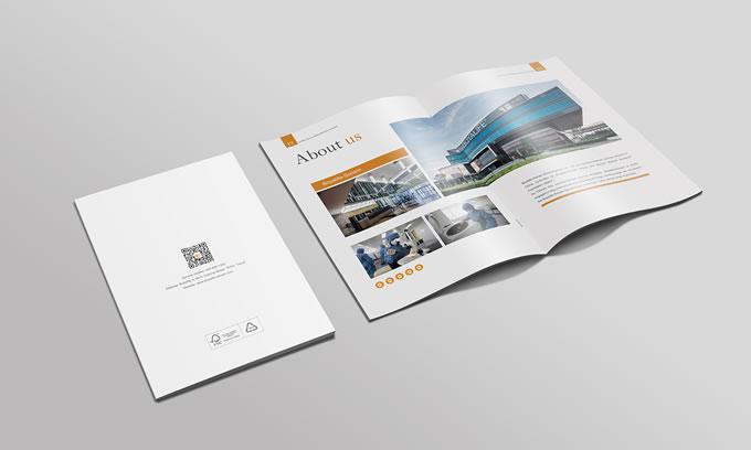 广州公司画册手机制作 广州画册设计印刷