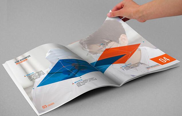 广州设计印刷 广州制作宣传画册设计