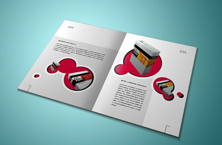 广州画册书刊设计印刷 广州公司画册手机制作