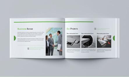 广州宣传册画册印刷厂家 广州企业画册印刷
