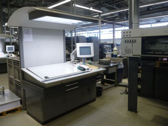 最新引进德国海德堡cp2000电脑对开四色印刷机